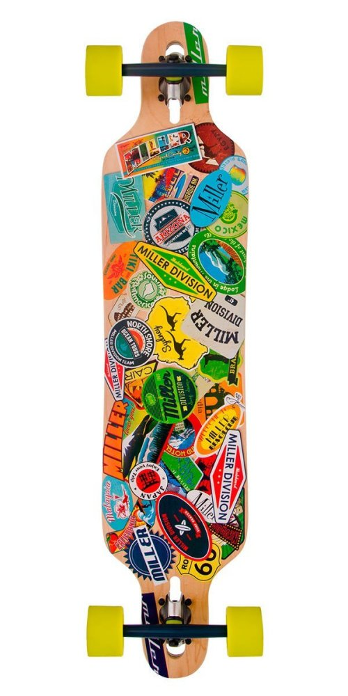 Miller Skateboards Travel Stickers S01LB0011
