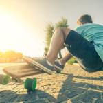 Wie man bei einem Longboard abbremst – auf die Technik kommt es an