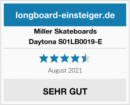 Miller Skateboards Daytona S01LB0019-E Test