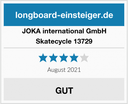JOKA international GmbH Skatecycle 13729 Test