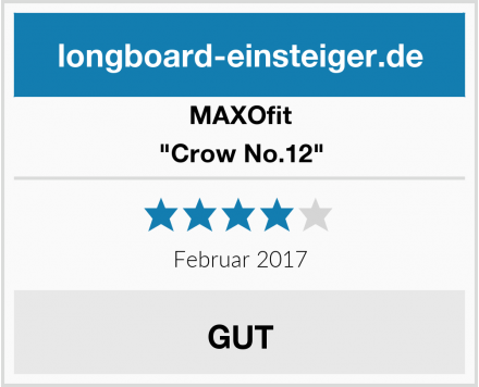 "MAXOfit ""Crow No.12"" Test"