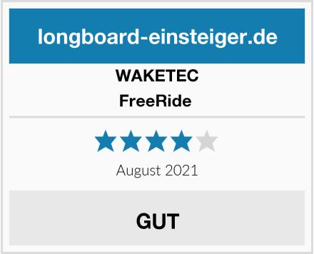 WAKETEC FreeRide  Test