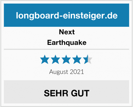 Next Earthquake Test