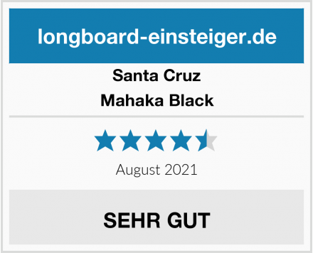 Santa Cruz Mahaka Black Test