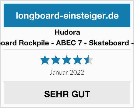 Hudora Longboard Rockpile - ABEC 7 - Skateboard - 12807 Test