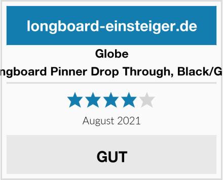 Globe Longboard Pinner Drop Through, Black/Gold Test