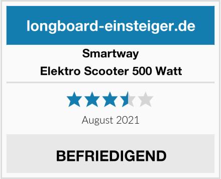 Smartway Elektro Scooter 500 Watt Test