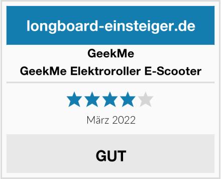 GeekMe GeekMe Elektroroller E-Scooter Test