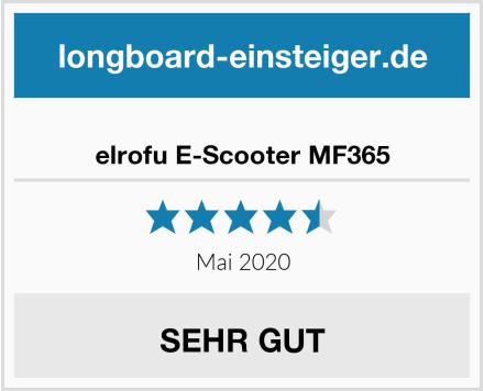 elrofu E-Scooter MF365 Test