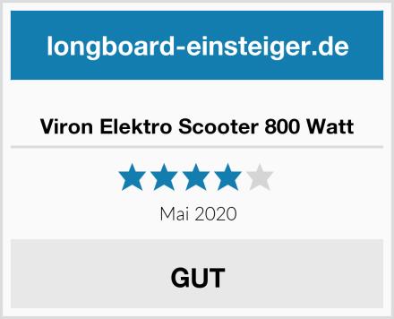 Viron Elektro Scooter 800 Watt Test