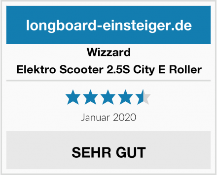 Wizzard Elektro Scooter 2.5S City E Roller Test