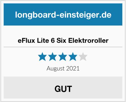 eFlux Lite 6 Six Elektroroller Test