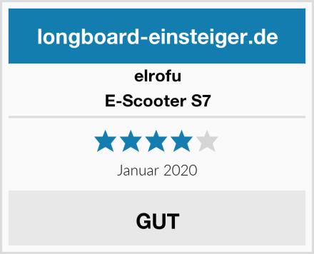 elrofu E-Scooter S7 Test