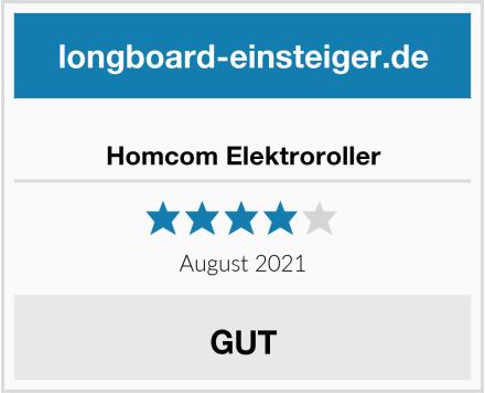 No Name Homcom Elektroroller Test