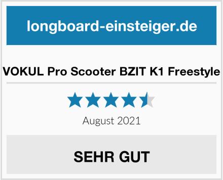 VOKUL Pro Scooter BZIT K1 Freestyle Test