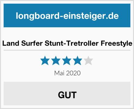 Land Surfer Stunt-Tretroller Freestyle Test