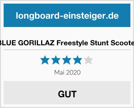BLUE GORILLAZ Freestyle Stunt Scooter Test