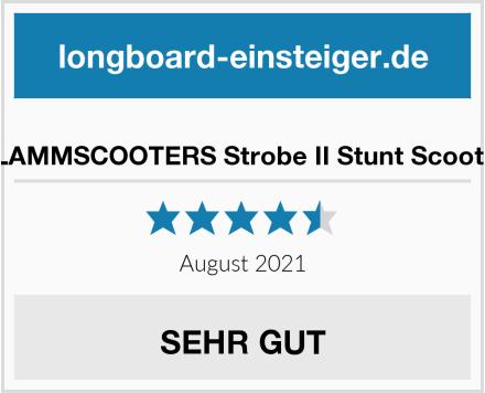 SLAMMSCOOTERS Strobe II Stunt Scooter Test