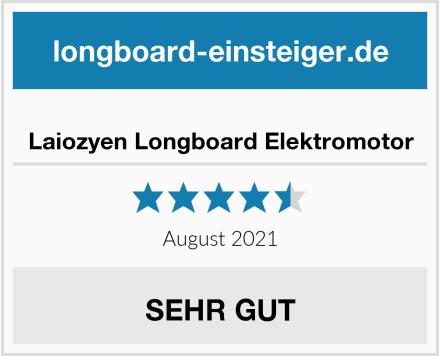 Laiozyen Longboard Elektromotor Test