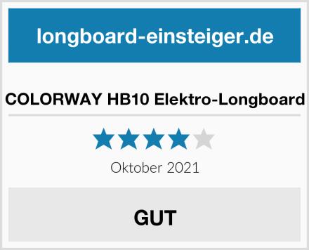 COLORWAY HB10 Elektro-Longboard Test
