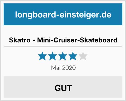 Skatro - Mini-Cruiser-Skateboard Test