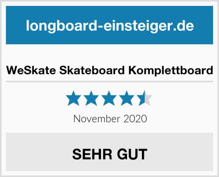 WeSkate Skateboard Komplettboard Test