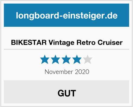 BIKESTAR Vintage Retro Cruiser Test