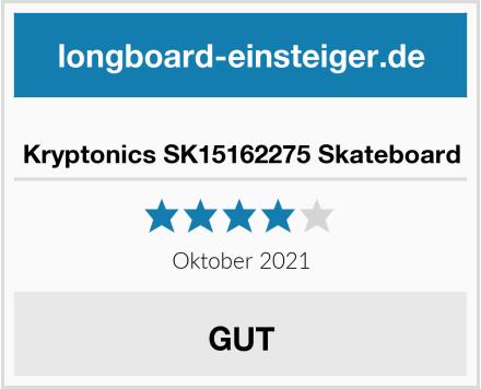 Kryptonics SK15162275 Skateboard Test