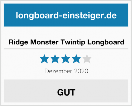 Ridge Monster Twintip Longboard Test