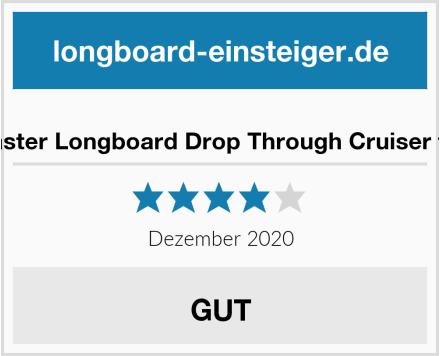 RollerCoaster Longboard Drop Through Cruiser für Kinder Test