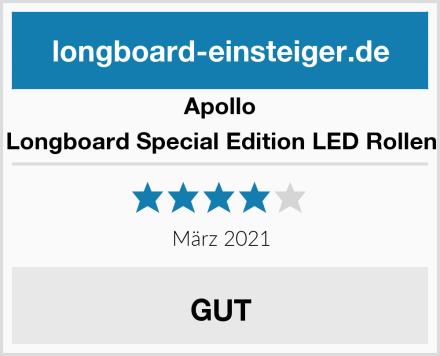 Apollo Longboard Special Edition LED Rollen Test