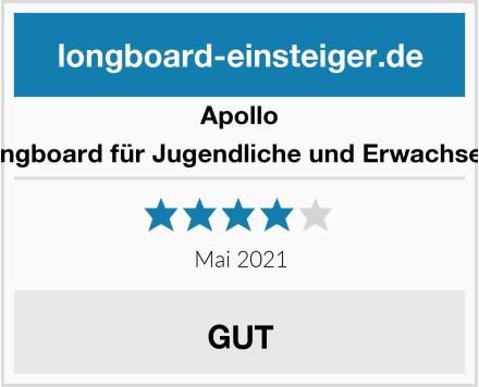 Apollo Longboard für Jugendliche und Erwachsene Test