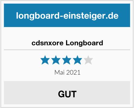 cdsnxore Longboard Test