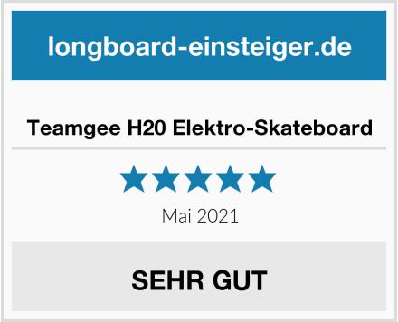 Teamgee H20 Elektro-Skateboard Test