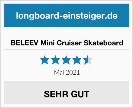 BELEEV Mini Cruiser Skateboard Test