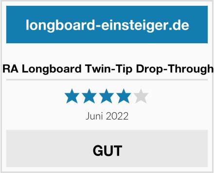 REAPER RA Longboard Twin-Tip Drop-Through Freeride Test