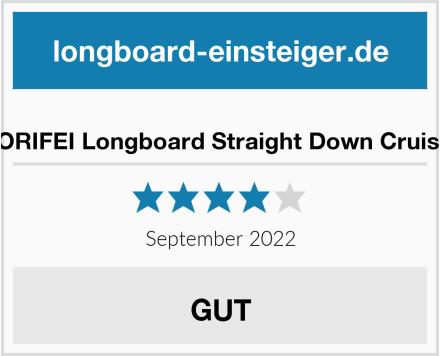 GORIFEI Longboard Straight Down Cruiser Test