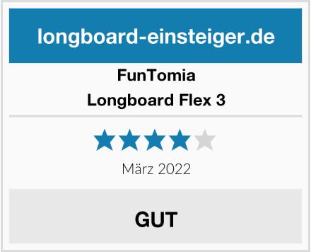 FunTomia Longboard Flex 3 Test