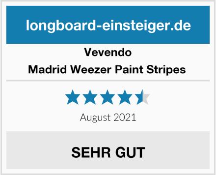 Vevendo Madrid Weezer Paint Stripes  Test