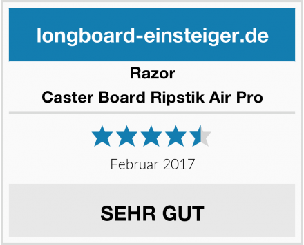 Razor Caster Board Ripstik Air Pro Test