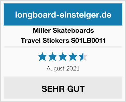 Miller Skateboards Travel Stickers S01LB0011 Test