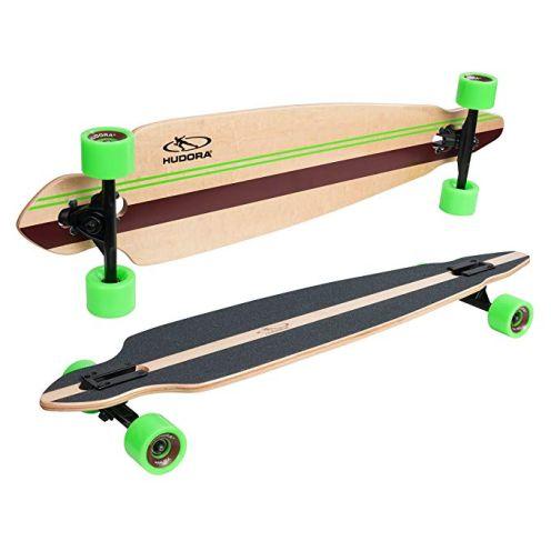 Hudora Longboard Rockpile - ABEC 7 - Skateboard - 12807