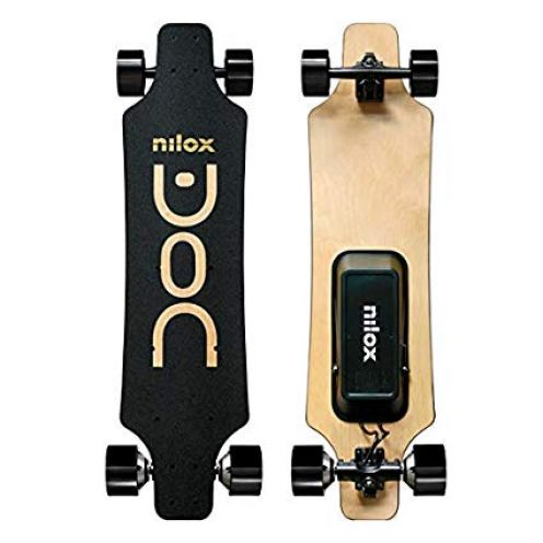 Nilox Unisex Youth DOC Longboard Electric