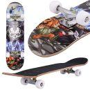 fiugsed Skateboard Totenkopf Design