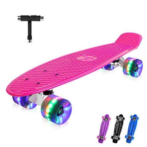 BELEEV Mini-Retro-Skateboard