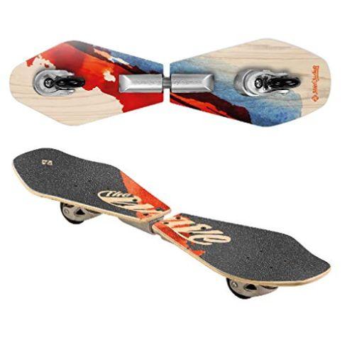 Streetsurfing Wooden Waveboard
