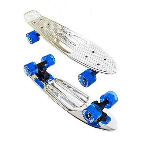 Karnage Kinder Chrome Retro Skateboard