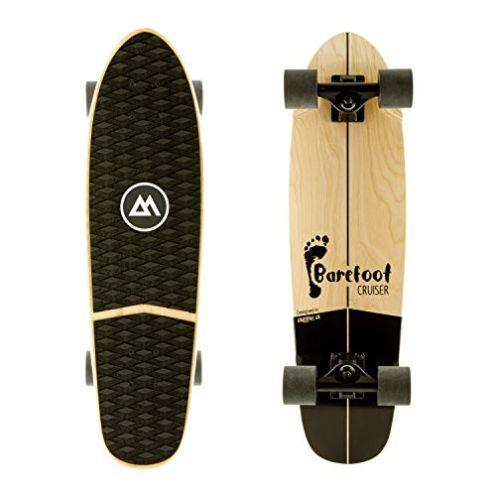 Magneto Barefoot Mini Cruiser Skateboard