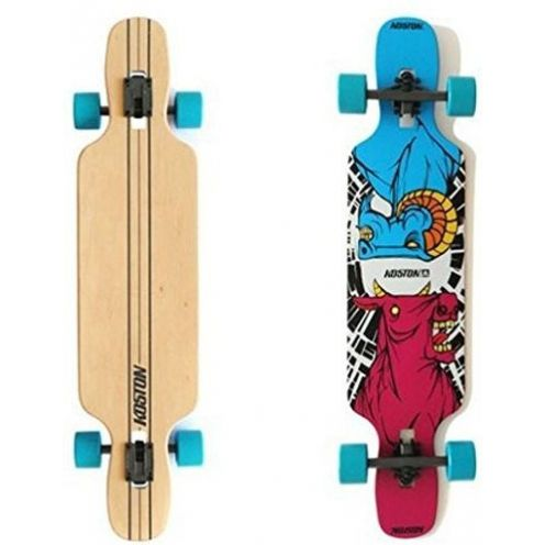 Koston Longboard Drop Through Komplettboard Cruiser Clash